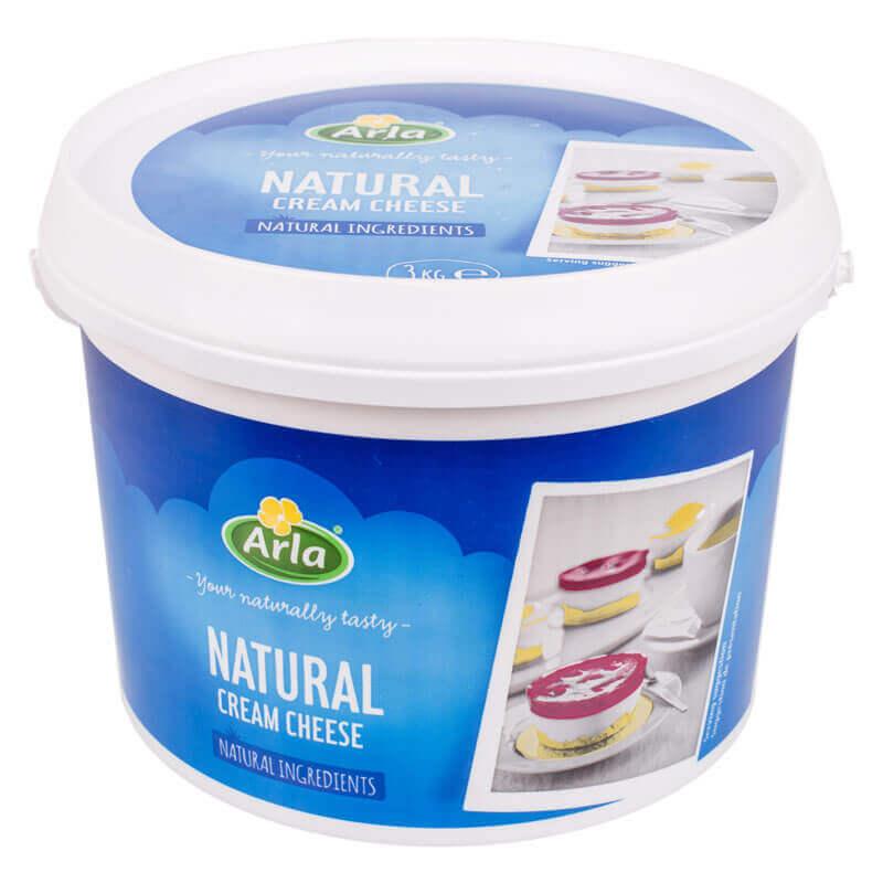 крем-сыр natural тм arla 70% 3кг