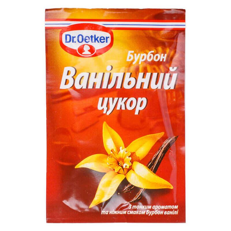 ванильный сахар бурбон dr.oetker 8г