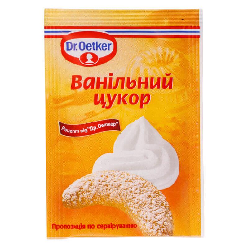 ванильный сахар dr.oetker 8г