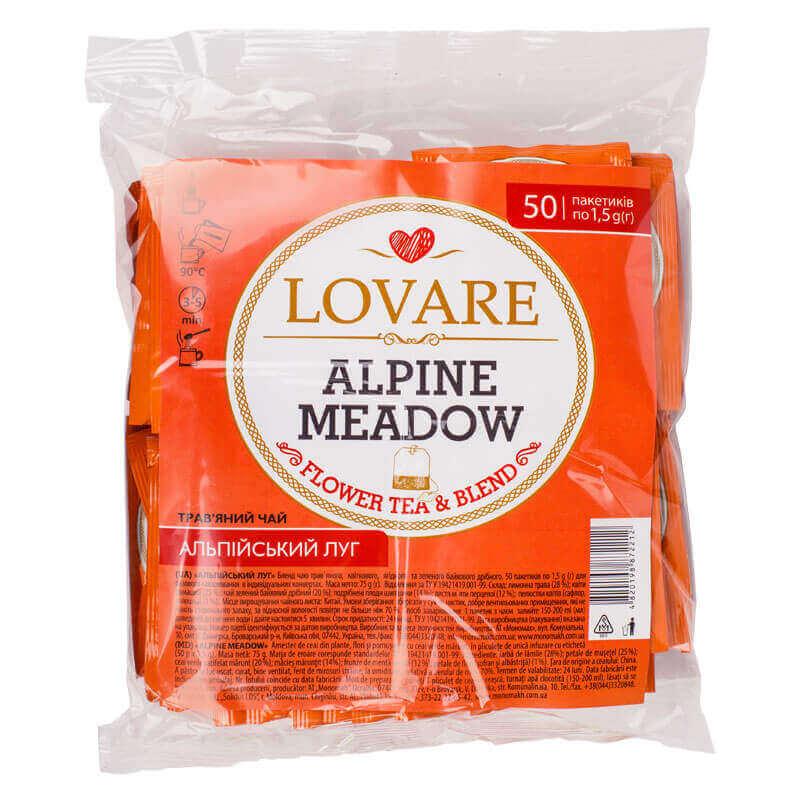 чай травяной альпийский луг lovare
