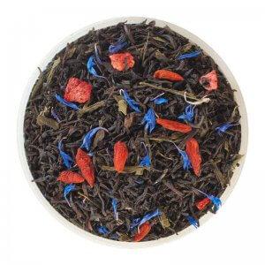 чай черный и зеленый брызги шампанского чайные шедевры