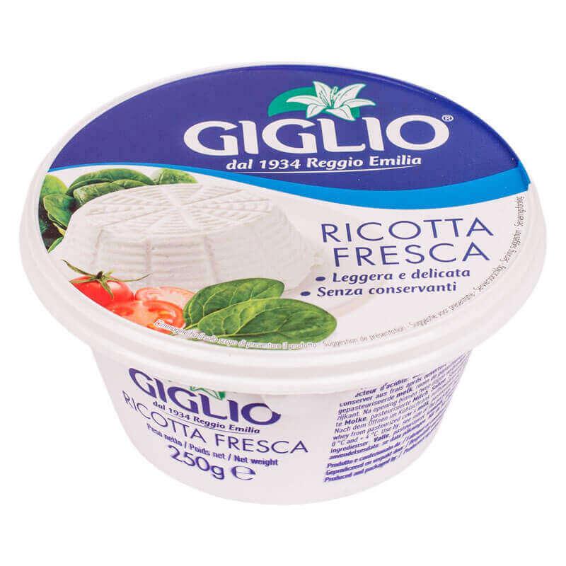 сыр рикотта fresca giglio 250г