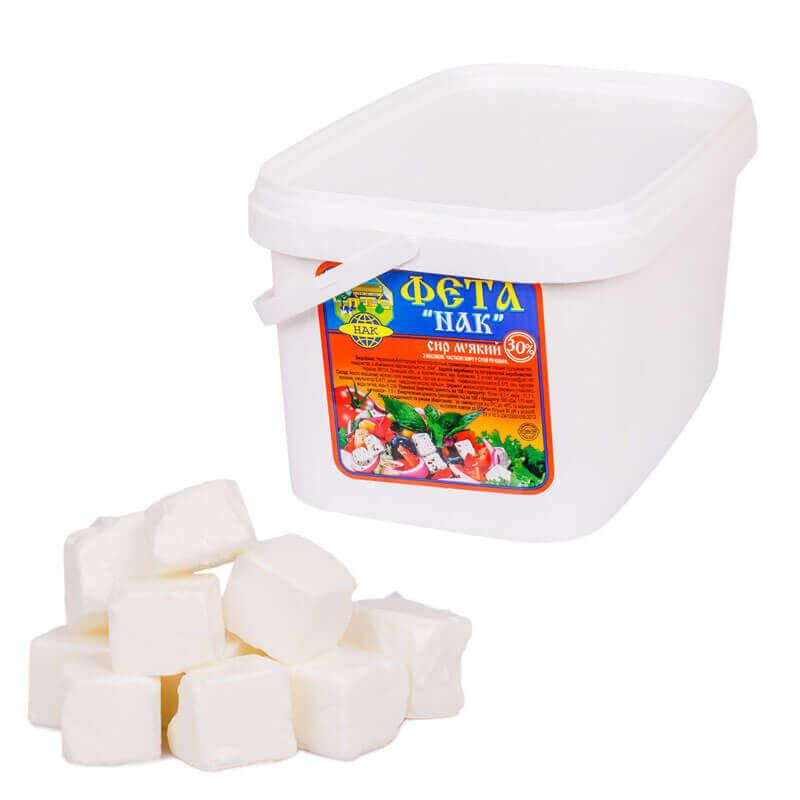 сыр мягкий фета кубик нак в рассоле
