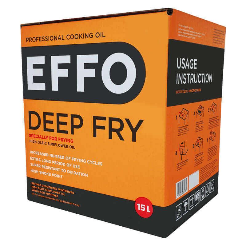профессиональное кулинарное масло effo deep fry bag-in-box 15л