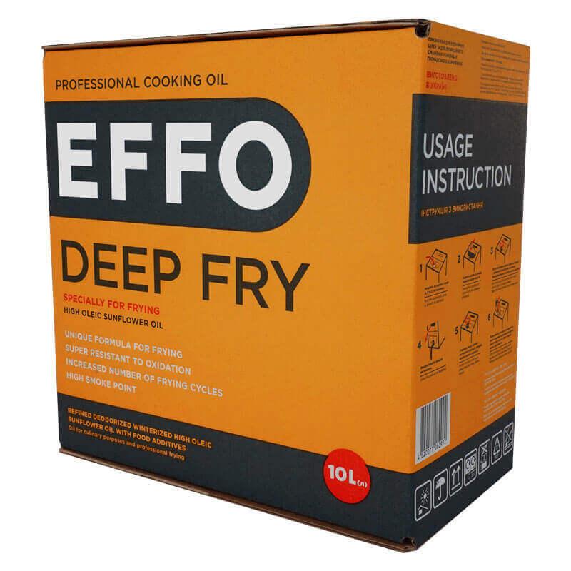 профессиональное кулинарное масло effo deep fry bag-in-box 10л