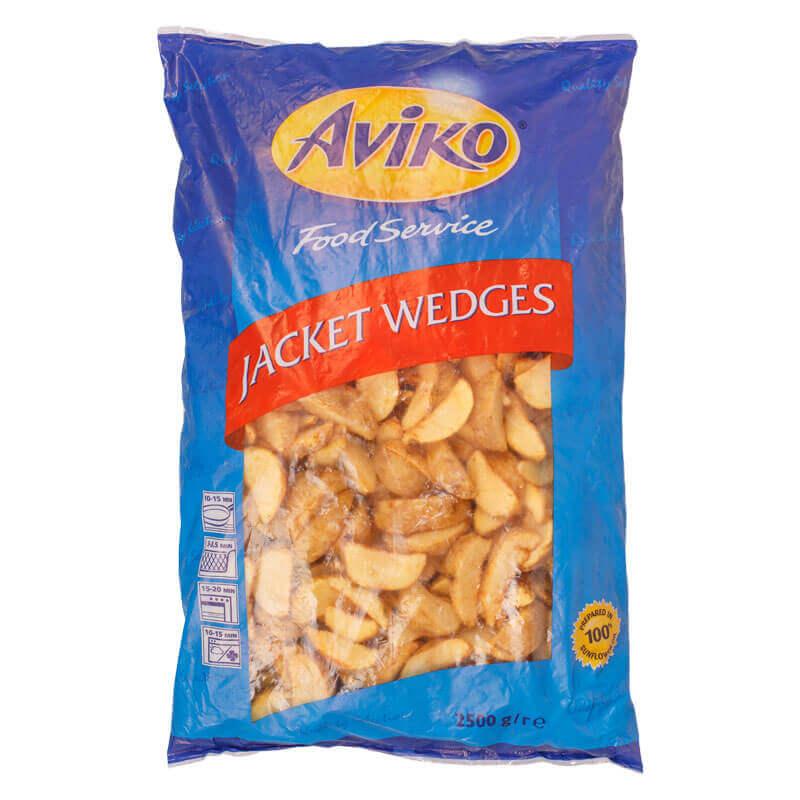 картофельные дольки с корочкой aviko