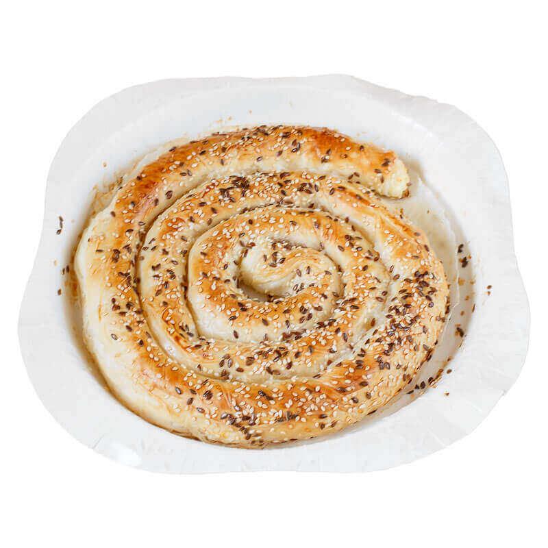 пирог балканский из вытяжного теста филло с брынзой valesto 550г
