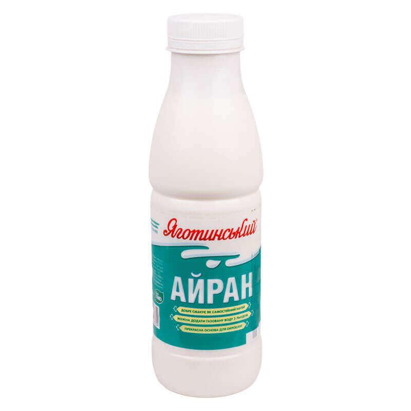 напиток кисломолочный 2% айран яготинский 450г
