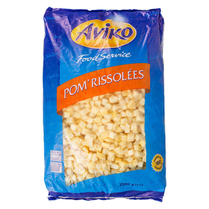 картофельные кубики Aviko 2,5кг