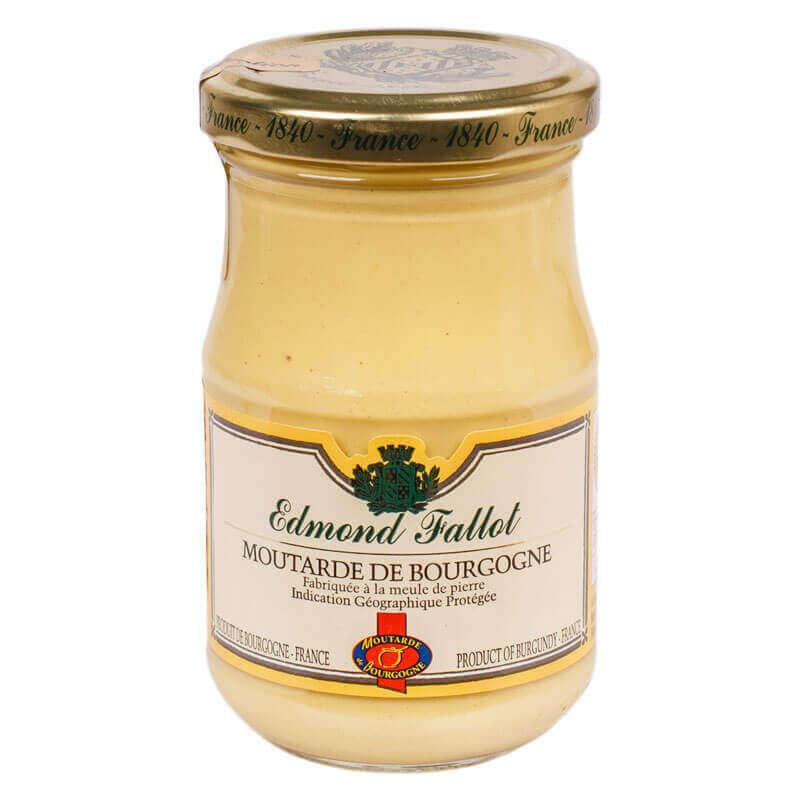 горчица бургундская с белым вином edmond fallot 210г