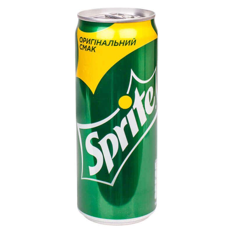 напиток безалкогольный сильногазированный sprite 330мл