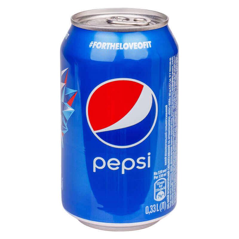 напиток безалкогольный сильногазированный pepsi 330мл