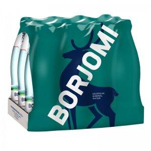 вода минеральная природная лечебно-столовая сильногазированная borjomi 330мл (12шт.)