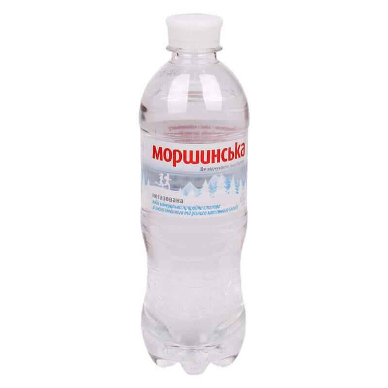 вода минеральная природная столовая негазированная моршинска 500мл