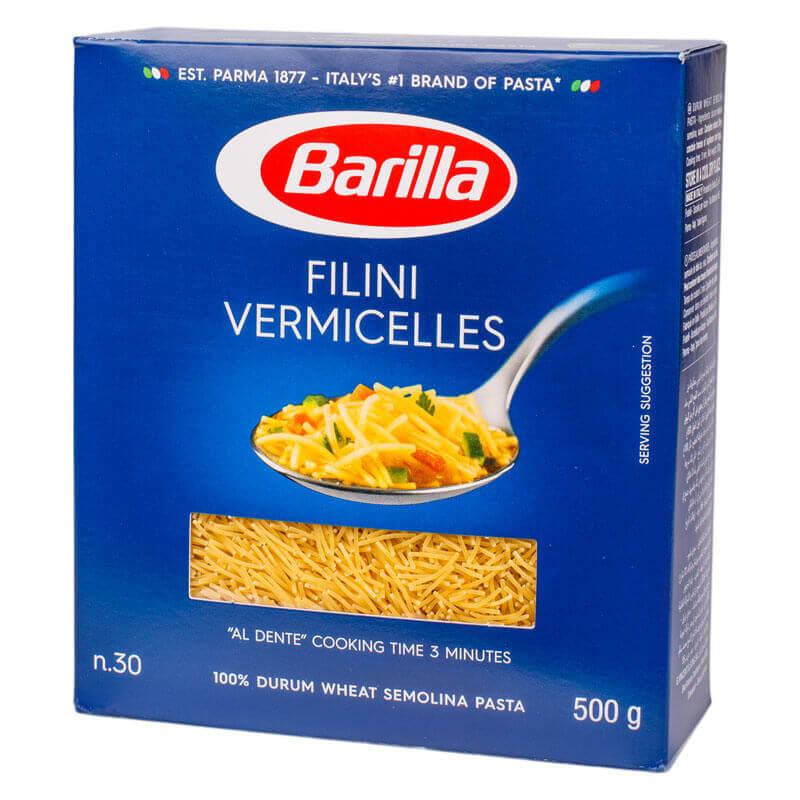 макароны филини 30 barilla 500г