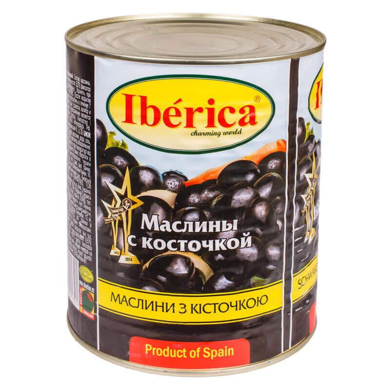 маслины с косточкой тм iberica 3000г