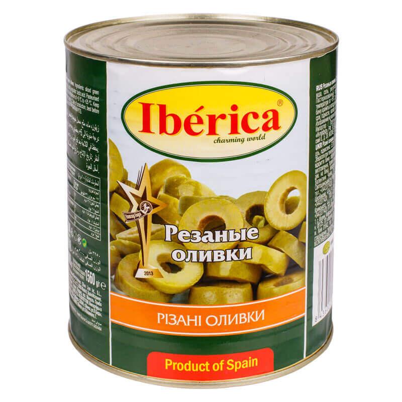 оливки резаные тм iberica 3000г
