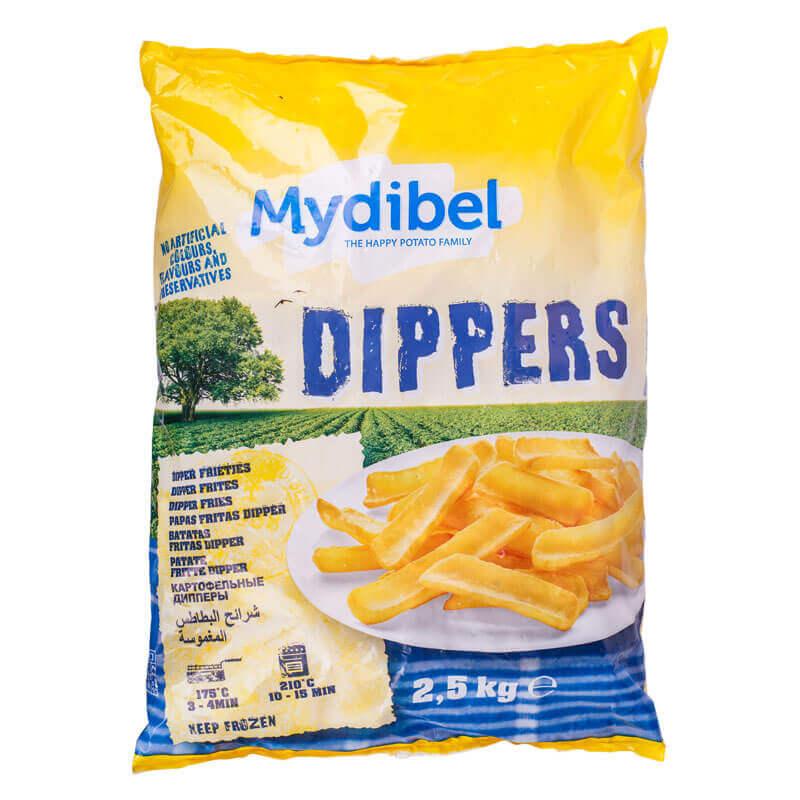 картофельные дипы dippers тм mydibe 2,5кг