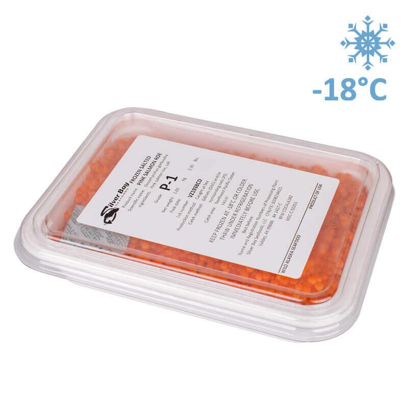 красная икра горбуши солёно-мороженая icicle seafoods p1 1кг