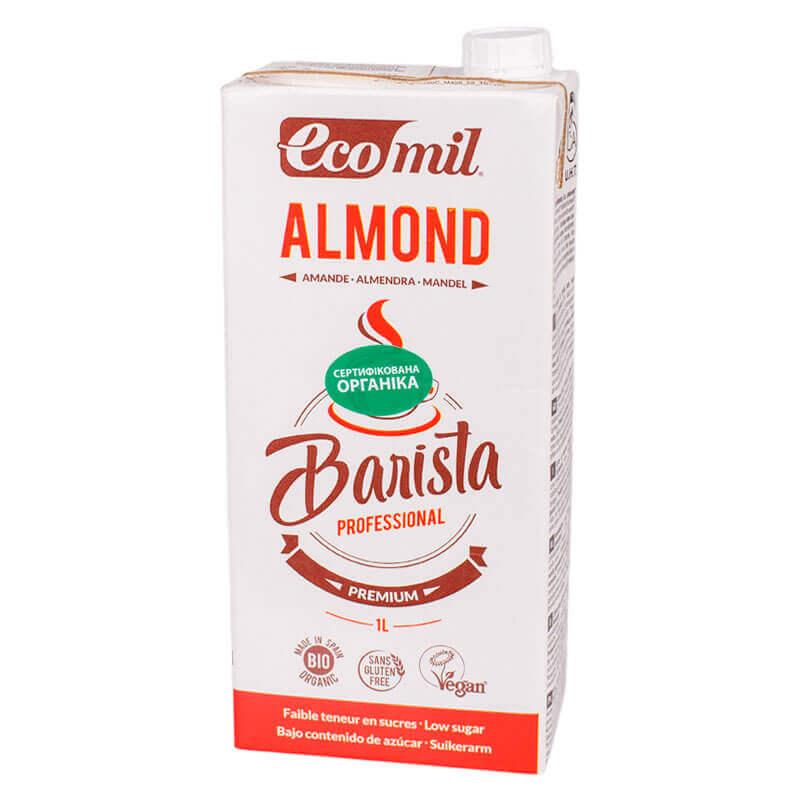 миндальный напиток barista ecomil 1л