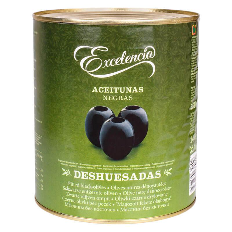 маслины без косточки тм exelencia 3кг
