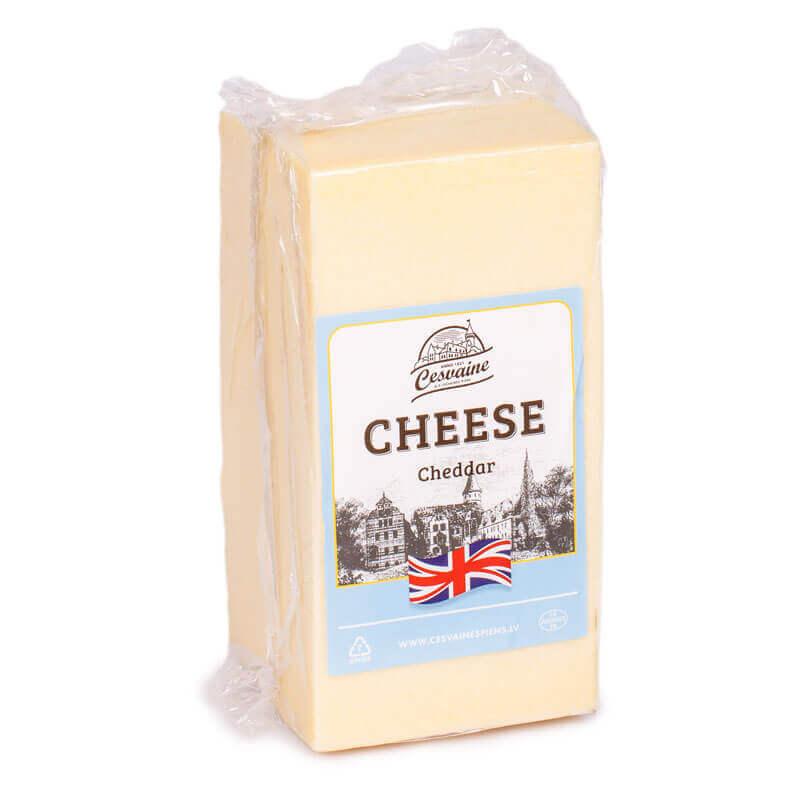сыр чеддер 50% cesvaine