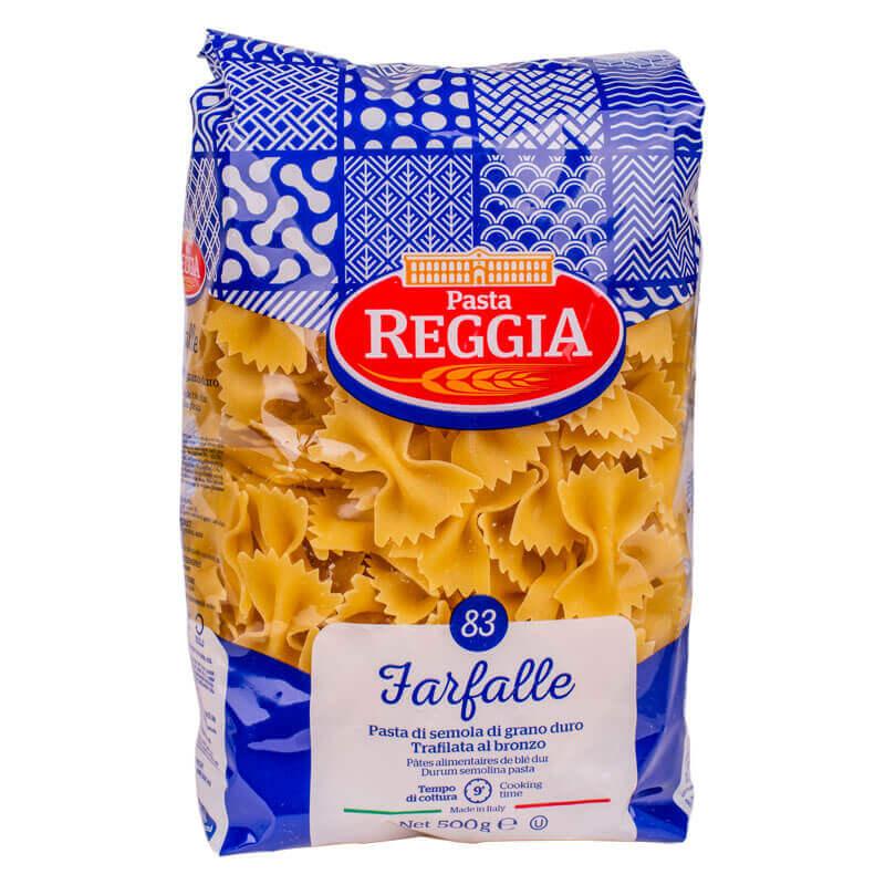 макароны из твердых сортов пшеницы 83 farfalle reggia 500г