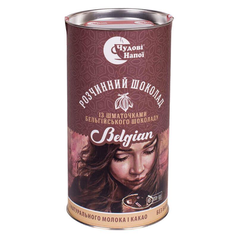 шоколад растворимый belgian тм чудові напої 200г