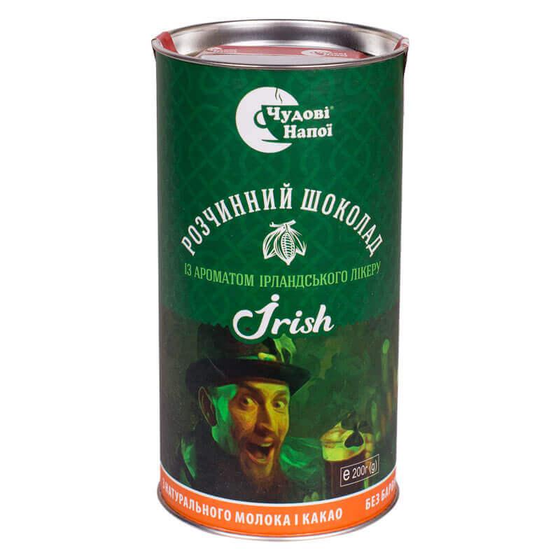 шоколад растворимый irish тм чудові напої 200г