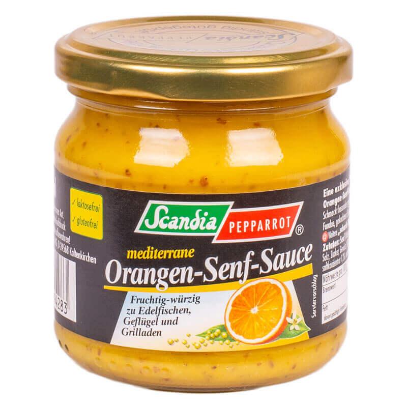 апельсиново-горчичный соус тм scandia pepparrot 180мл
