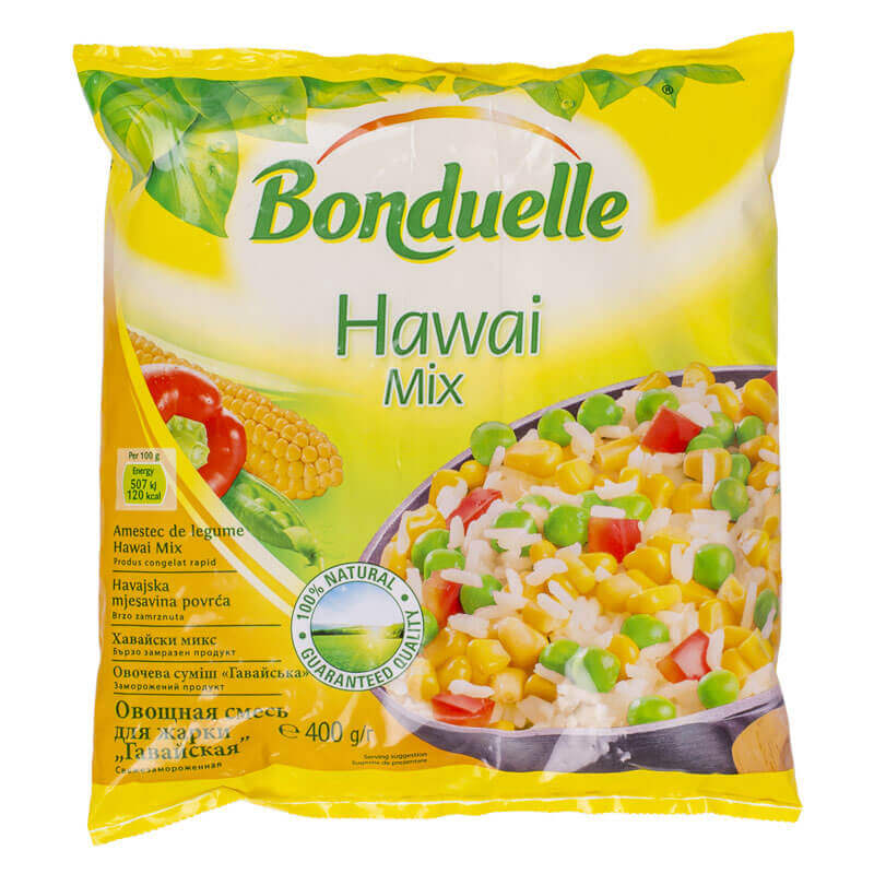 овощная смесь гавайская bonduelle 400г