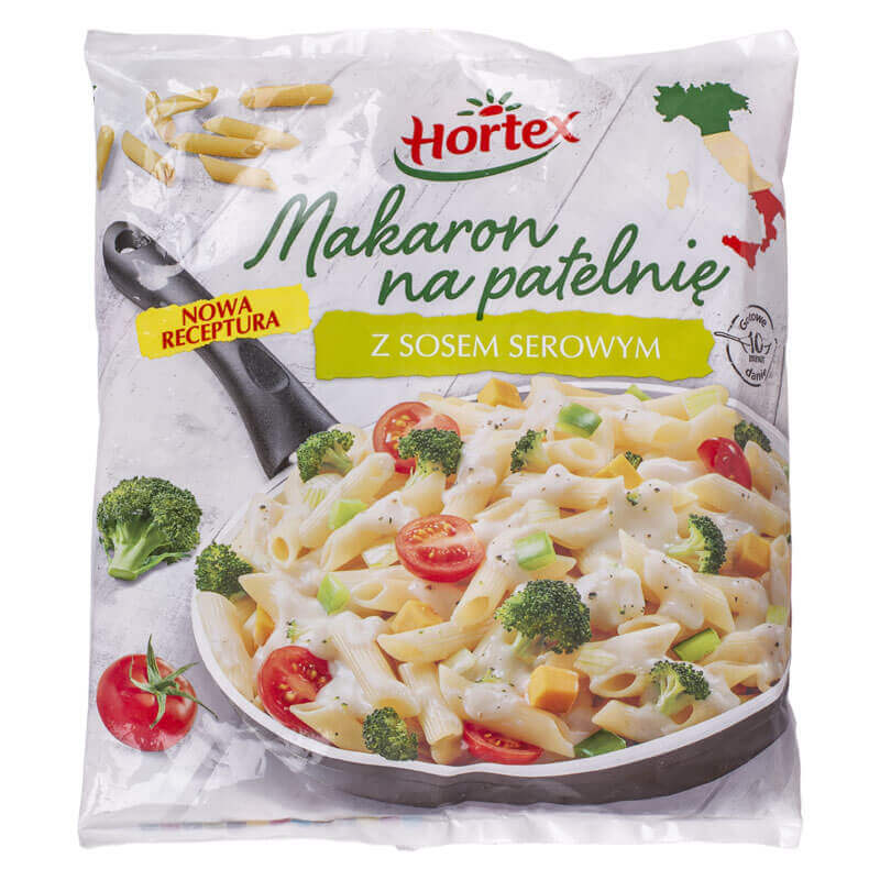макароны для жарки с сырным соусом hortex 450г