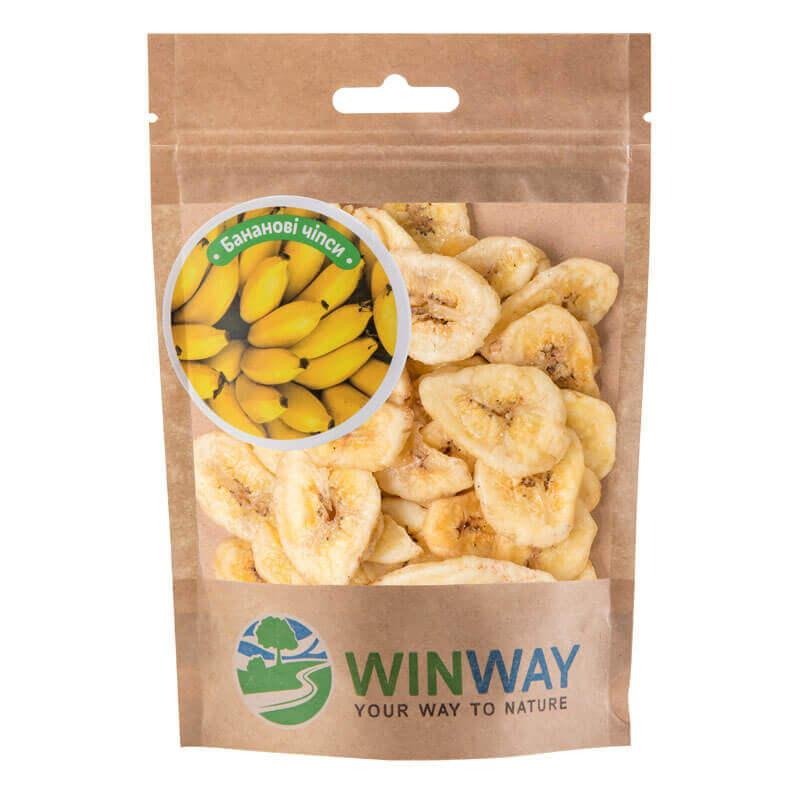 банановые чипсы тм winway 70г