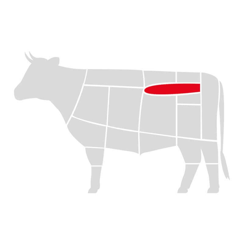стейк филе миньон выдержанный тм мястория