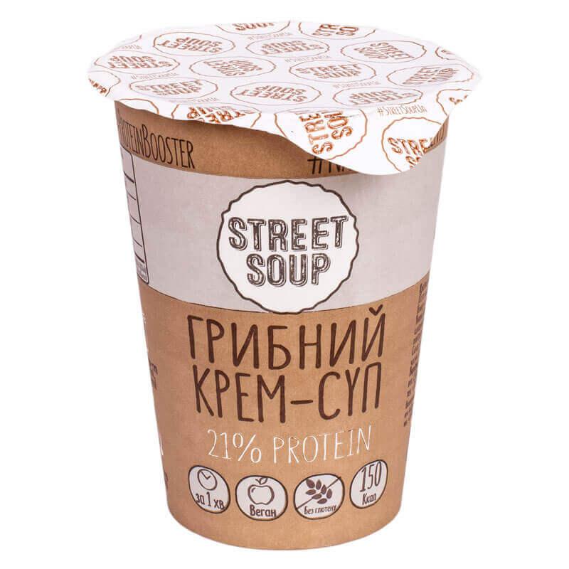 крем-суп грибной тм street soup 50г