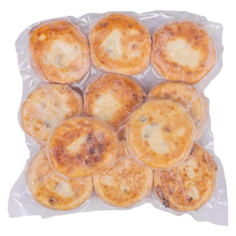 сырники с изюмом жареные d7,5см 1кг