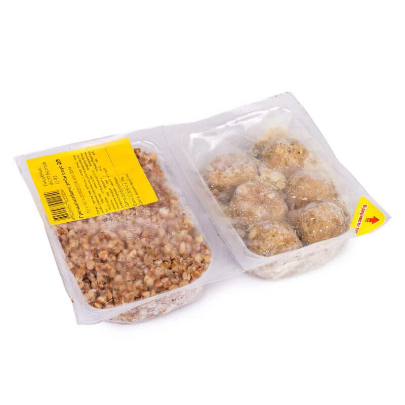 гречка митболы грибной соус тм добра вечеря 00г