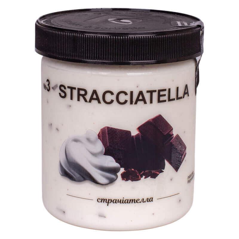 мороженое страчателла la gelateria italiana 330г