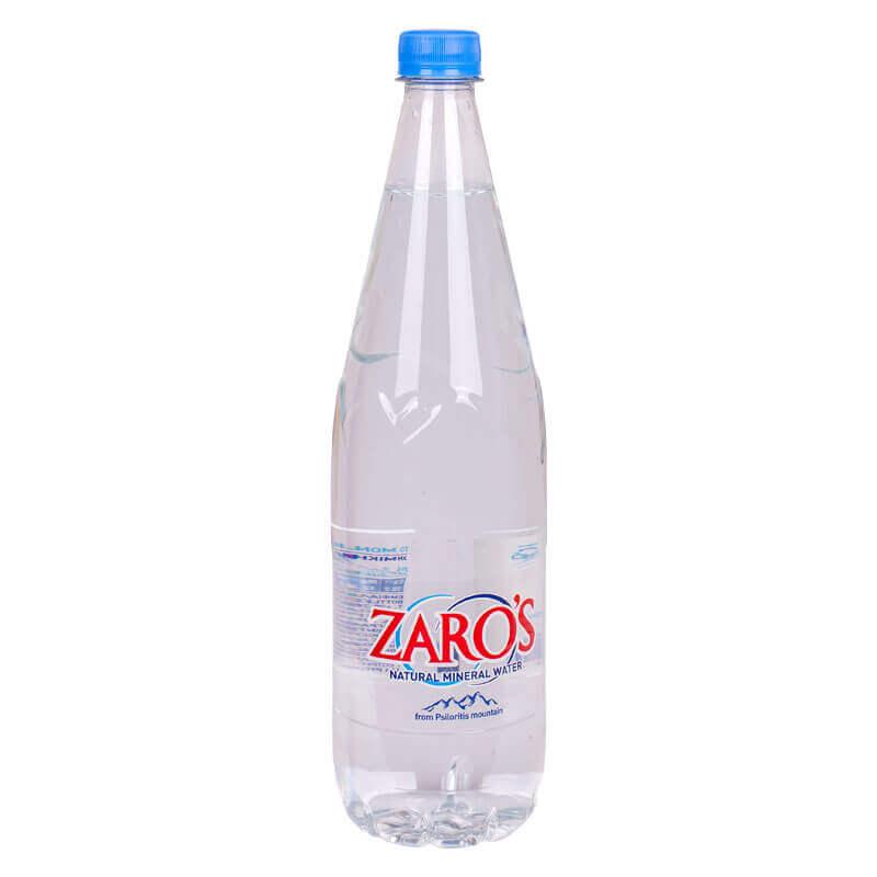 вода натуральная минеральная тм zaro's 1л