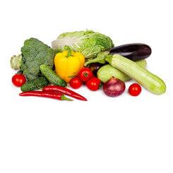 Свежие овощи / зелень