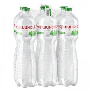вода минеральная природная столовая слабогазированная тм моршинська 1,5л (6шт.)