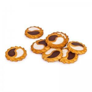 печенье сдобное инь - янь delicia 1,2кг