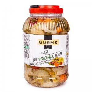 маринованные овощи микс тм gurme 3750г