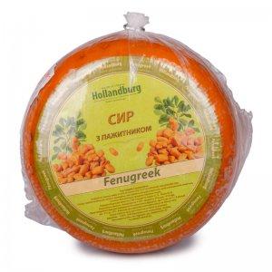 cыр твердый с пажитником fenugreek 50% тм hollandburg