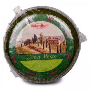 cыр твердый green pesto 50% тм hollandburg