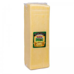 сыр отборный молодой белый чеддер тм old irish creamery 2,5кг