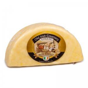 сыр чеддер с ирландским виски тм old irish creamery 1,2кг